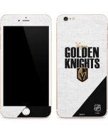 Vegas Golden Knights Script iPhone 6/6s Plus Skin