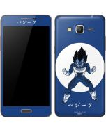 Vegeta Monochrome Galaxy Grand Prime Skin