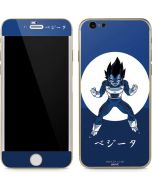 Vegeta Monochrome iPhone 6/6s Skin