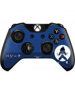Vegeta Monochrome Xbox One Controller Skin