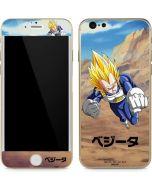 Vegeta Power Punch iPhone 6/6s Skin