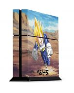 Vegeta Power Punch PS4 Console Skin