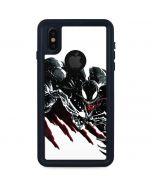 Venom Slashes iPhone X Waterproof Case