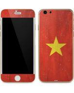 Vietnam Flag Distressed iPhone 6/6s Skin