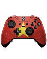 Vietnam Flag Distressed Xbox One Elite Controller Skin
