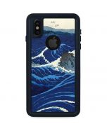 View of the Naruto whirlpools at Awa iPhone X Waterproof Case