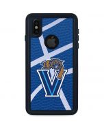 Villanova Basketball Print iPhone XS Waterproof Case