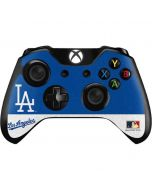 Vintage Dodgers Xbox One Controller Skin