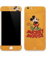 Walt Disney Mickey Mouse iPhone 6/6s Plus Skin