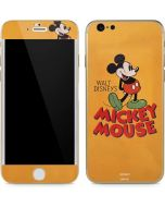 Walt Disney Mickey Mouse iPhone 6/6s Skin