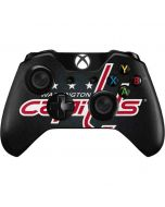 Washington Capitals Black Background Xbox One Controller Skin