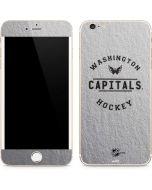 Washington Capitals Black Text iPhone 6/6s Plus Skin