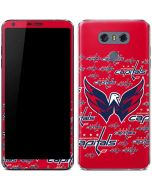 Washington Capitals Blast LG G6 Skin