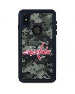 Washington Capitals Camo iPhone XS Waterproof Case