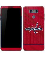 Washington Capitals Home Jersey LG G6 Skin
