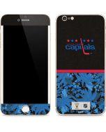 Washington Capitals Retro Tropical Print iPhone 6/6s Plus Skin