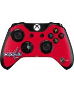 Washington Capitals Solid Background Xbox One Controller Skin