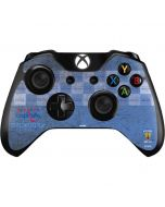 Washington Capitals Vintage Xbox One Controller Skin