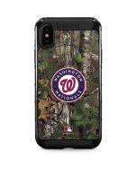 Washington Nationals Realtree Xtra Green Camo iPhone XS Max Cargo Case