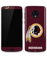 Washington Redskins Distressed Moto G6 Skin