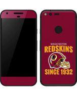 Washington Redskins Helmet Google Pixel Skin