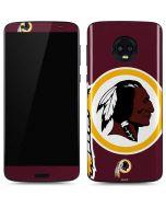 Washington Redskins Large Logo Moto G6 Skin