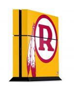 Washington Redskins Retro Logo PS4 Console Skin