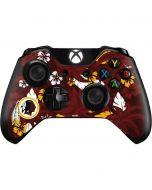 Washington Redskins Tropical Print Xbox One Controller Skin