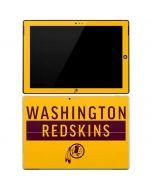 Washington Redskins Yellow Performance Series Surface Pro 3 Skin