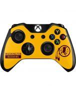 Washington Redskins Yellow Performance Series Xbox One Controller Skin
