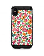 Watercolor Floral iPhone X Cargo Case