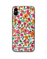 Watercolor Floral iPhone X Skin
