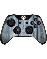 Weathered Blue Wood Xbox One Controller Skin