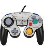Weathered Wood Nintendo GameCube Controller Skin