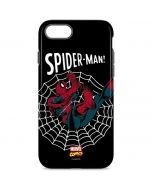Web-Slinger Spider-Man Comic iPhone 8 Pro Case