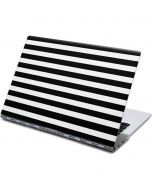 White and Black Stripes Yoga 910 2-in-1 14in Touch-Screen Skin