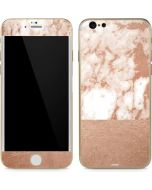White Rose Gold Marble iPhone 6/6s Skin