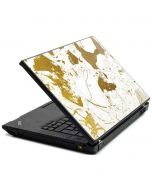 White Scattered Marble T440s Skin