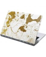 White Scattered Marble Yoga 910 2-in-1 14in Touch-Screen Skin