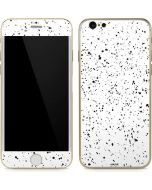 White Speckle iPhone 6/6s Skin
