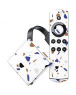 White Terrazzo Amazon Fire TV Skin