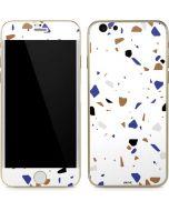 White Terrazzo iPhone 6/6s Skin