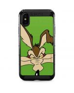 Wile E Coyote Zoomed In iPhone XS Max Cargo Case