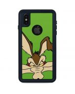 Wile E Coyote Zoomed In iPhone XS Waterproof Case