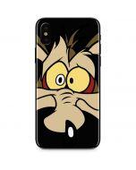 Wile E. Coyote iPhone XS Max Skin