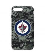 Winnipeg Jets Camo iPhone 7 Plus Pro Case