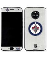 Winnipeg Jets Distressed Moto X4 Skin