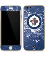 Winnipeg Jets Frozen iPhone 6/6s Skin