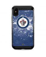 Winnipeg Jets Frozen iPhone XS Max Cargo Case