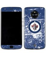 Winnipeg Jets Frozen Moto X4 Skin